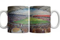 Tynecastle Park Stadium Fine Art Ceramic Mug - Heart of Midlothian Football Club