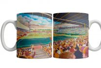 Fir Park Stadium Fine Art Ceramic Mug - Motherwell Football Club