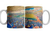 Rugby Park Stadium Fine Art Ceramic Mug - Kilmarnock Football Club