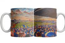 Plough Lane Stadium Fine Art Ceramic Mug - AFC Wimbledon