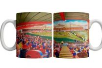 New Douglas Park Stadium Fine Art Ceramic Mug - Hamilton Academical Football Club