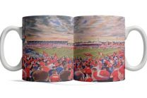 The Willows Stadium Fine Art Ceramic Mug - Salford Rugby League Club
