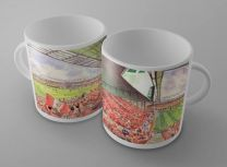 Anfield Stadium Fine Art Ceramic Mug - Liverpool Football Club