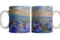 Cappielow Park Stadium Fine Art Ceramic Mug - Greenock Morton Football Club