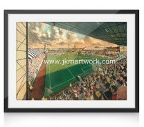 Love Street Stadium Fine Art Print - St Mirren Football Club