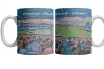 Kenilworth Road Stadium Fine Art Ceramic Mug - Luton Town Football Club