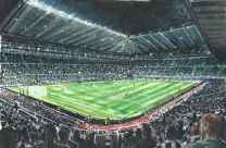 St James' Park Stadium Fine Art Print - Newcastle United Football Club