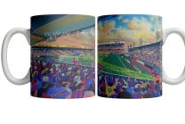 Selhurst Park Stadium Fine Art Ceramic Mug - Crystal Palace Football Club