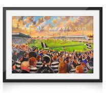 The Boulevard Stadium Fine Art Print - Hull Rugby League Football Club