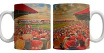 Ayresome Park Stadium Fine Art Ceramic Mug - Middlesbrough Football Club