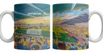 Pirelli Stadium Fine Art Ceramic Mug - Burton Albion Football Club