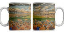 Bloomfield Park Stadium Fine Art Ceramic Mug - Blackpool Football Club