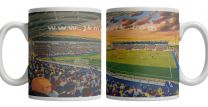 Brockville Stadium Fine Art Ceramic Mug - Falkirk Football Club