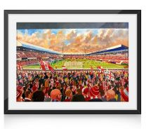 Victoria Ground Stadium Fine Art Print - Stoke City Football Club