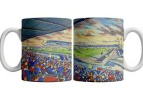 Caledonian Stadium Fine Art Ceramic Mug - Inverness Caledonian Thistle Football Club