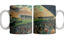 Welford Road Stadium Fine Art Ceramic Mug - Leicester Tigers Rugby Union Club