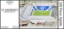 St Andrews Stadia Fine Art Jigsaw Puzzle - Birmingham City Football Club