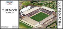 Turf Moor Stadia Fine Art Jigsaw Puzzle - Burnley Football Club