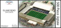 Elland Road Stadia Fine Art Jigsaw Puzzle - Leeds United Football Club