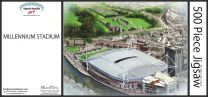 Millennium(Principality) Stadia Fine Art Jigsaw Puzzle - Wales Rugby Union