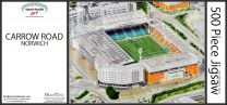 Carrow Road Stadia Fine Art Jigsaw Puzzle - Norwich City Football Club
