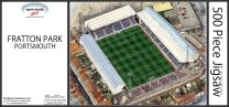 Fratton Park Stadia Fine Art Jigsaw Puzzle - Portsmouth Football Club