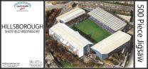 Hillsborough Stadia Fine Art Jigsaw Puzzle - Sheffield Wednesday Football Club