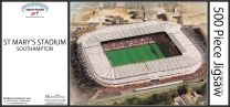 St Mary's Stadia Fine Art Jigsaw Puzzle - Southampton Football Club