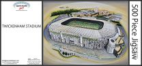 Twickenham Stadium Fine Art Jigsaw Puzzle - England Rugby Union
