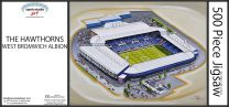 The Hawthorns Stadia Fine Art Jigsaw Puzzle - West Bromwich Albion Football Club