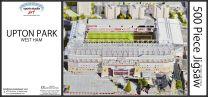 Upton Park Stadia Fine Art Jigsaw Puzzle - West Ham United Football Club