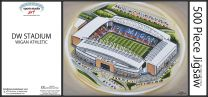 DW Stadia Fine Art Jigsaw Puzzle - Wigan Athletic Football Club