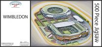 All England Lawn Tennis Club Stadium Fine Art Jigsaw Puzzle - Wimbledon Grand Slam