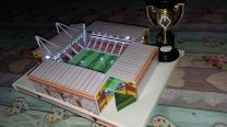 Molineux Stadium Handmade Model - Wolverhampton Wanderers Football Club