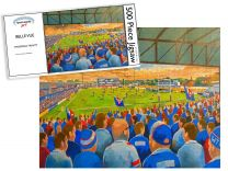 Belle Vue Stadium Fine Art Jigsaw Puzzle - Wakefield Trinity Rugby League
