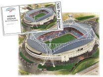 Reebok Stadia Fine Art Jigsaw Puzzle - Bolton Wanderers Football Club