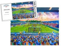Spotland Stadium Fine Art Jigsaw Puzzle - Rochdale Football Club