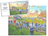 Stair Park Stadium Fine Art Jigsaw Puzzle - Stranraer Football Club