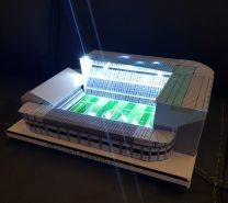 St James' Park Stadium Handmade Model - Newcastle United Football Club