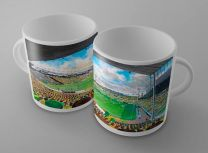Carrow Road Stadium Fine Art Ceramic Mug - Norwich City Football Club