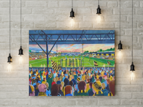 Abbey Stadium Fine Art Canvas Print - Cambridge United Football Club