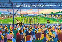 Abbey Stadium Fine Art Print - Cambridge United Football Club