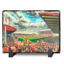 Pittodrie Stadium Fine Art Slate Presentation - Aberdeen Football Club