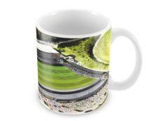 Adams Park Stadia Fine Art Ceramic Mug - Wycombe Wanderers Football Club