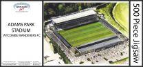 Adams Park Stadia Fine Art Jigsaw Puzzle - Wycombe Wanderers