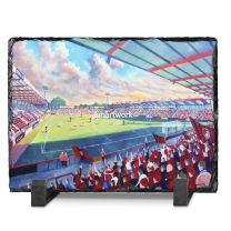 Dean Court Stadium Fine Art Slate Presentation - AFC Bournemouth