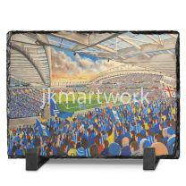 Amex Stadium Fine Art Slate Presentation - Brighton & Hove Albion Football Club