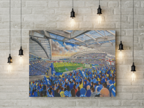 Amex Stadium Fine Art Canvas Print - Brighton & Hove Albion Football Club