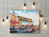 Anfield Stadium Fine Art Box Canvas Print - Liverpool Football Club