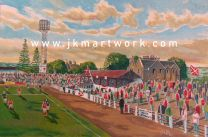 Annfield Stadium Fine Art Print - Stirling Albion Football Club